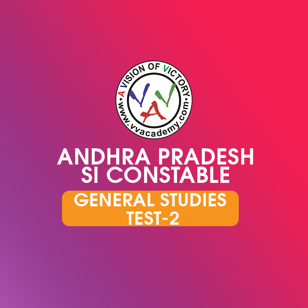 AP  Police SI General Studies prelims previous questions