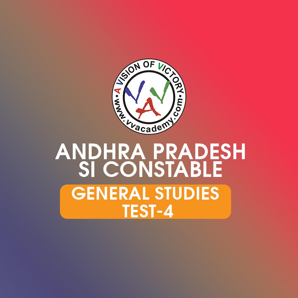 AP Police SI General Studies prelims previous questions