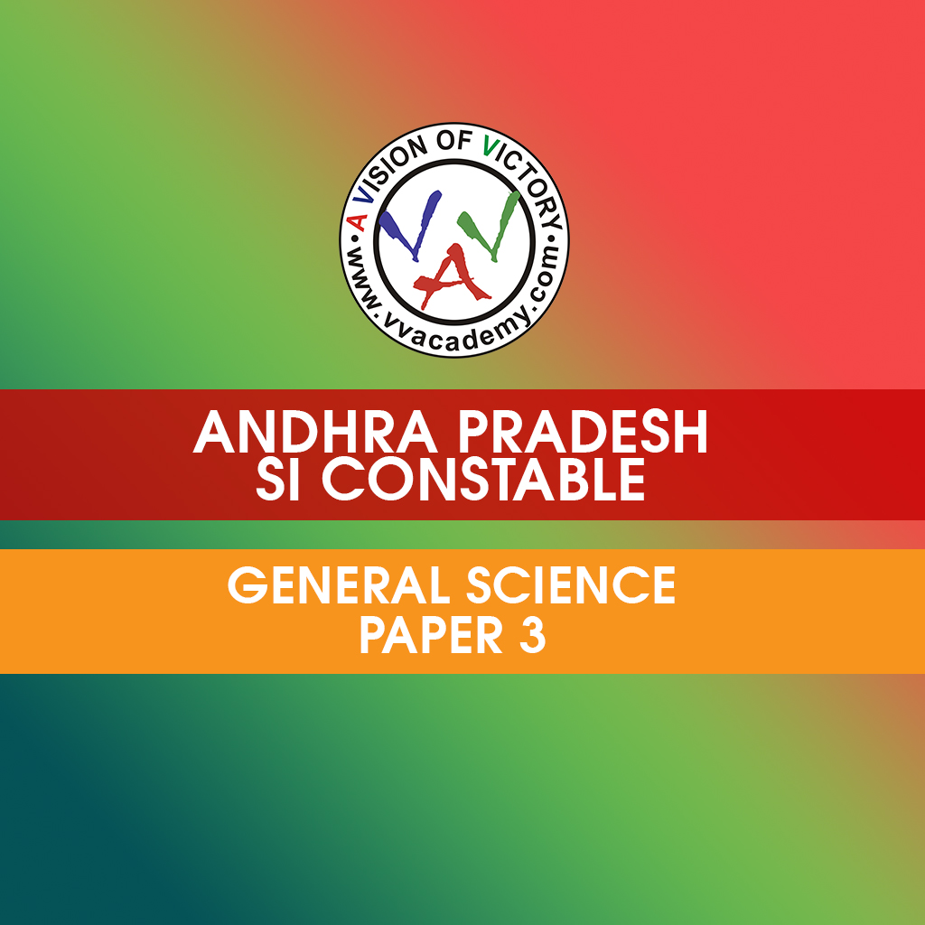AP Police SI General Science prelims previous questions