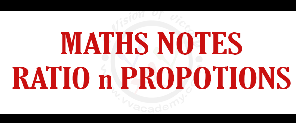 [:en]Concept Of Ratio And Proportion – MATHS NOTES [:]