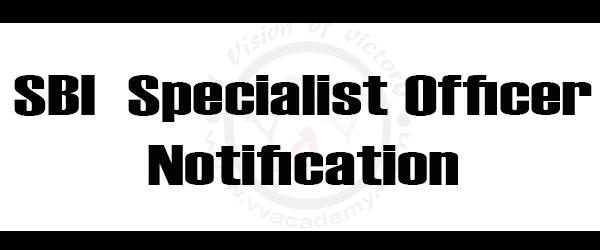 [:en]SBI 2018 Notification – Specialist officer [:]