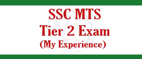 [:en]SSC MTS Tier 2 Exam- Student Experience [:]