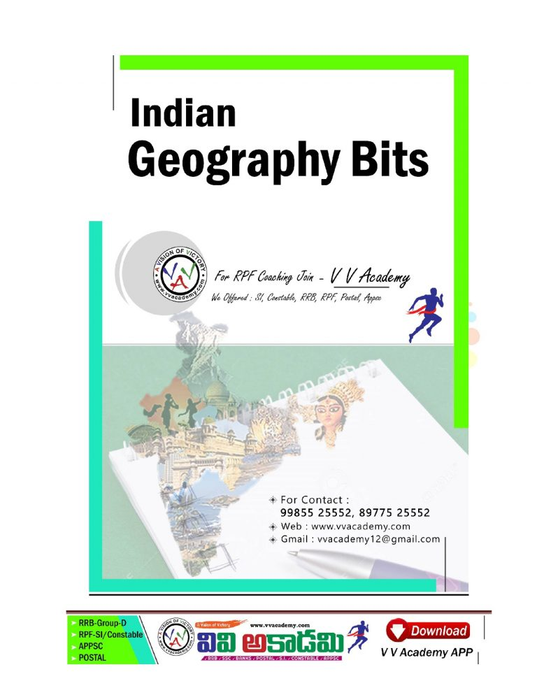 Indian Geography Bits.