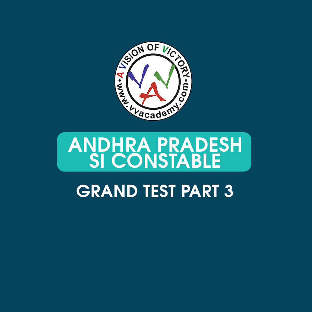 AP POLICE - si /constable - grand test part 3
